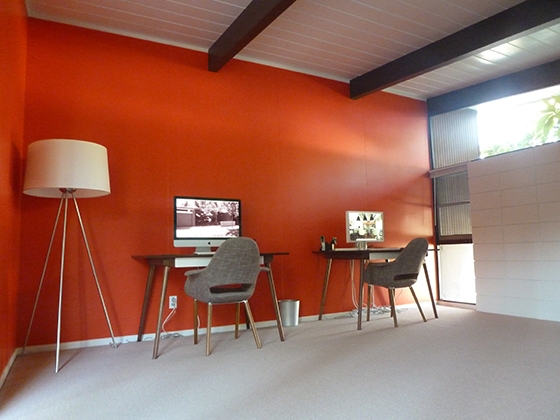 orange-office-wall