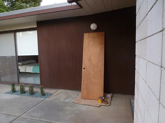 bathroom-door-stained & door restore | fogmodern