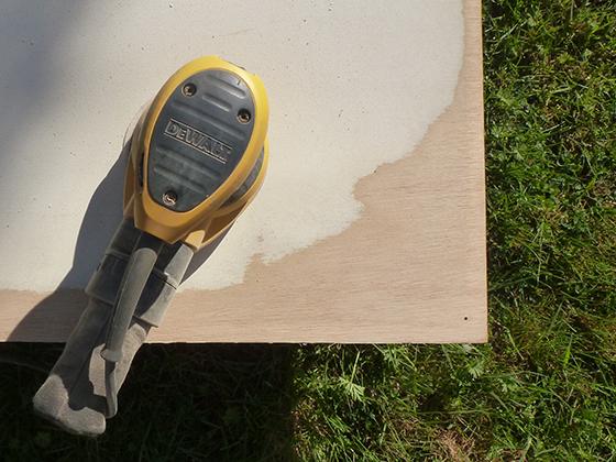 door-sanding