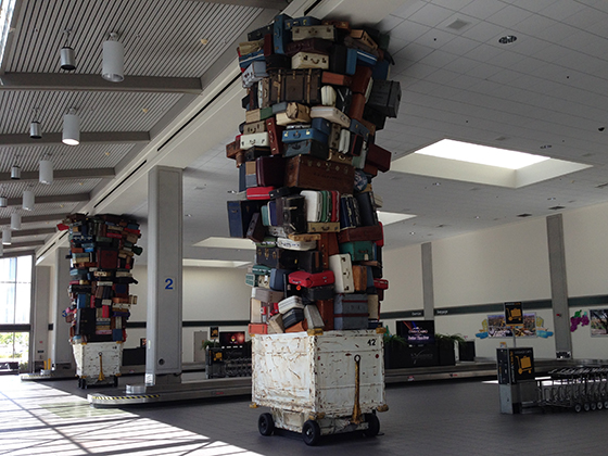 baggage-pile-sculpture