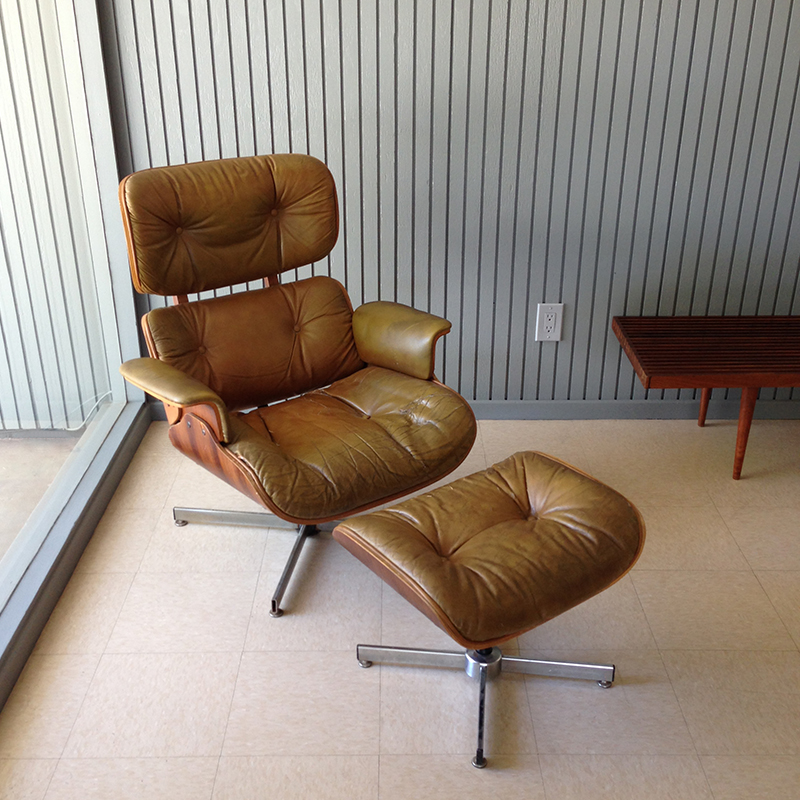 charles eames ray and chair lounge by