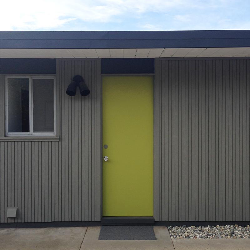 brown-back-door-done & back side | fogmodern