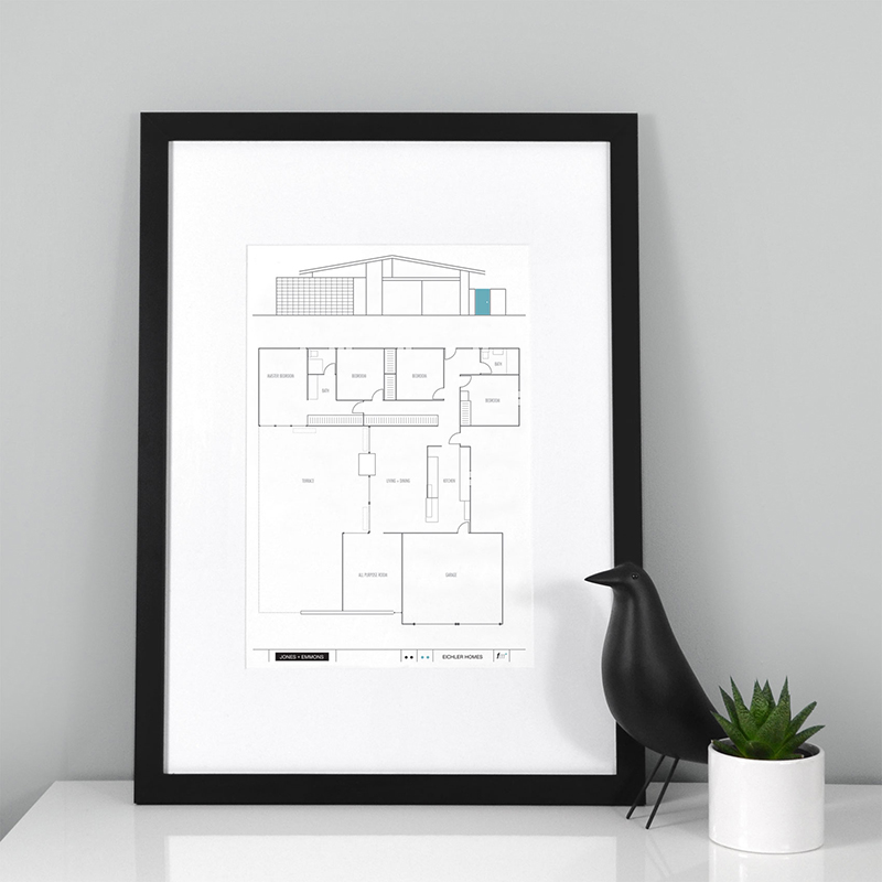 JE-84-floorplan-print-framed