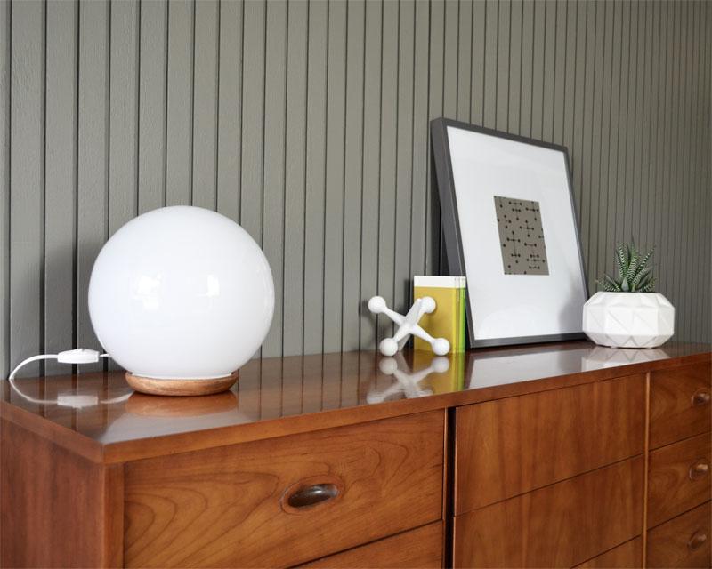 ikea globe hack fogmodern. Black Bedroom Furniture Sets. Home Design Ideas