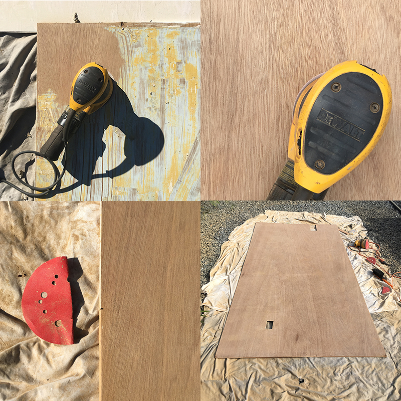 paneling-rescue-sanding-process