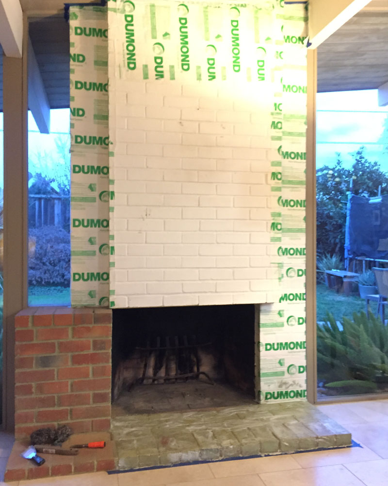 fireplace restoration rural retreat restoration fireplace